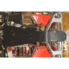 Honda 04-05 450r Full Belly Frame Skid Plate