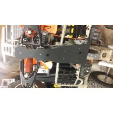 Kawasaki KFX 400 Full Belly Frame Skid Plate