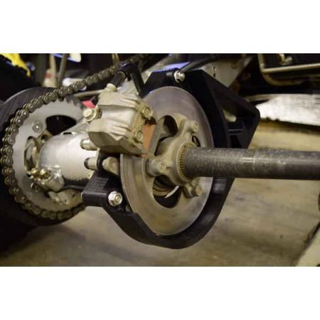 Suzuki LTR 450 Rear Brake Rotor Guard