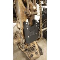 Yamaha YFZ450R swingarm plate