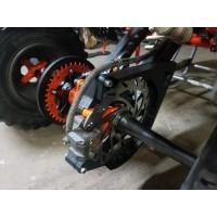 Yamaha warrior rear rotor guard. 90-04